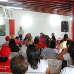 La militancia estuvo atenta a las exposiciones de los panelistas quienes detallaron la importancia de estar alertas